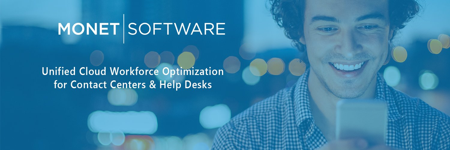 Monet Software - Unified Cloud Workforce Optimization for Contact Centers and Help Desks
